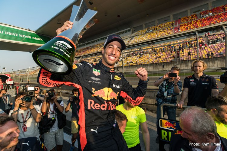 F1, Shanghai, China, Sunday April 15, 2018
