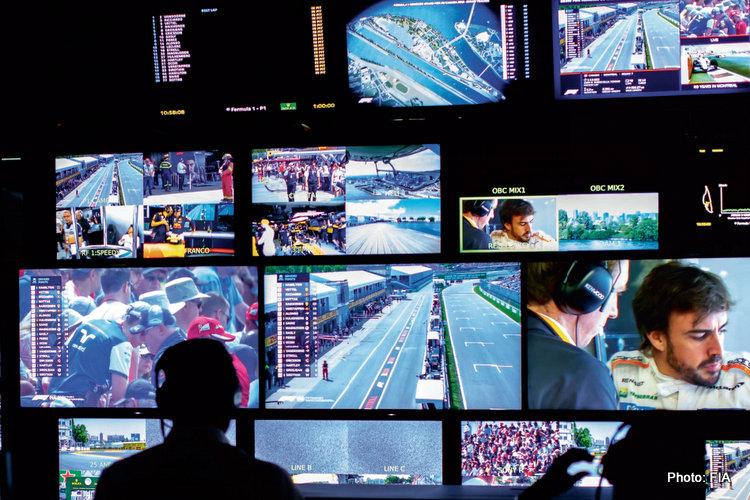 F1 TV television