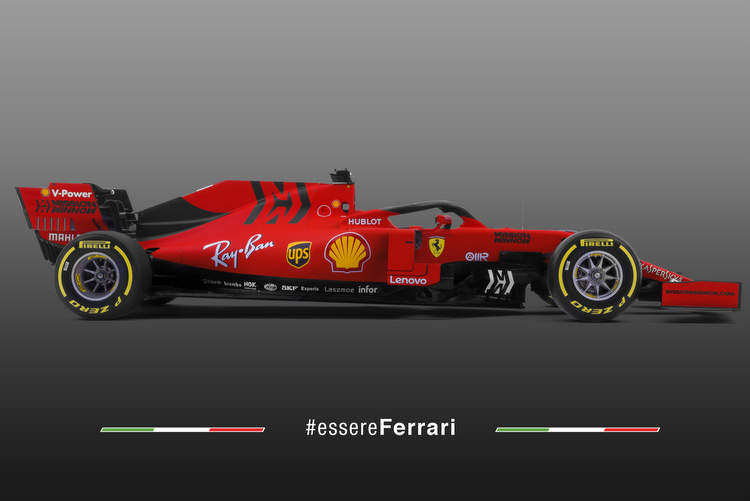 Ferrari SF90 F1 car 2019 first photo 15-Feb-19 11-40-50 AM