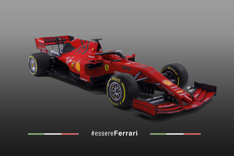 Ferrari SF90 F1 car 2019 first photo 15-Feb-19 11-42-36 AM