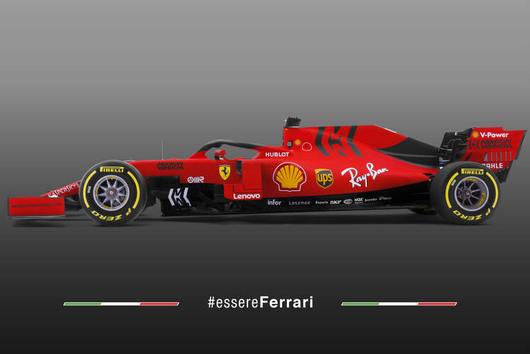 Ferrari SF90 F1 car 2019 first photo 15-Feb-19 11-44-51 AM