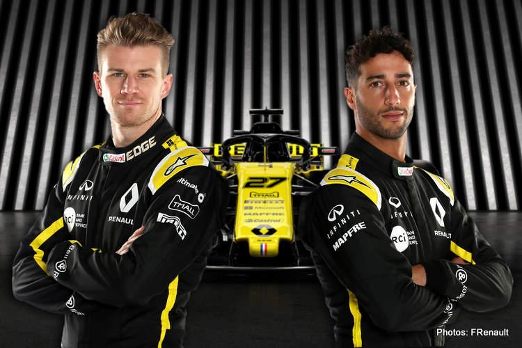 Hulkenberg and Ricciardo