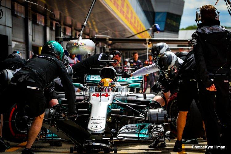 British Grand Prix Practice