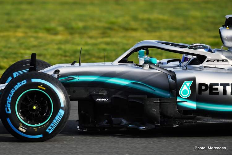 F1 W10 EQ Power+ Shakedown, Silverstone