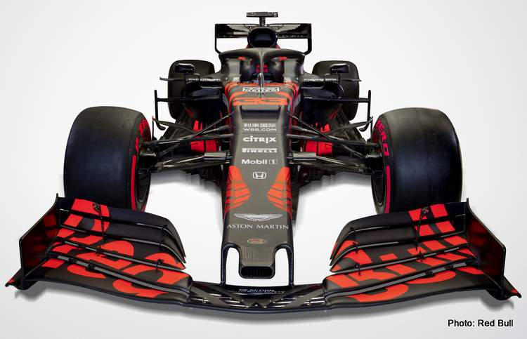 Red Bull RB15 first photo 2019 F1 car