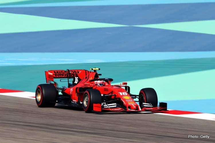 Bahrain FP3 Re-Run: Leclerc and Vettel well ahead - Grand Prix 247