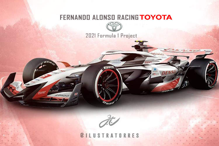 Fernando Alonso Racing To Tackle F1 In 2021 With Toyota Grand Prix 247