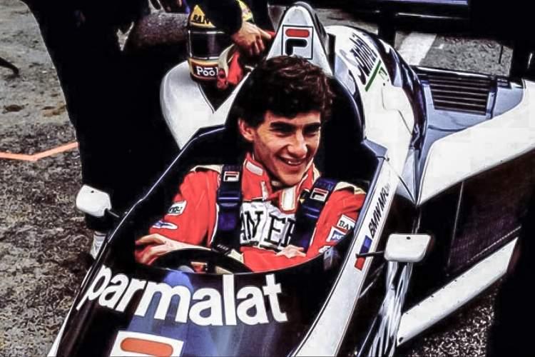 Ayrton Senna Brabham