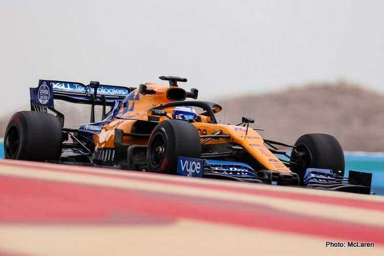 Fernando alonso bahrain f1 test 2019 photo