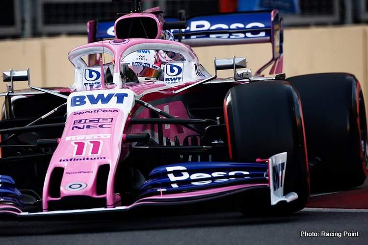 Sergio Perez baku