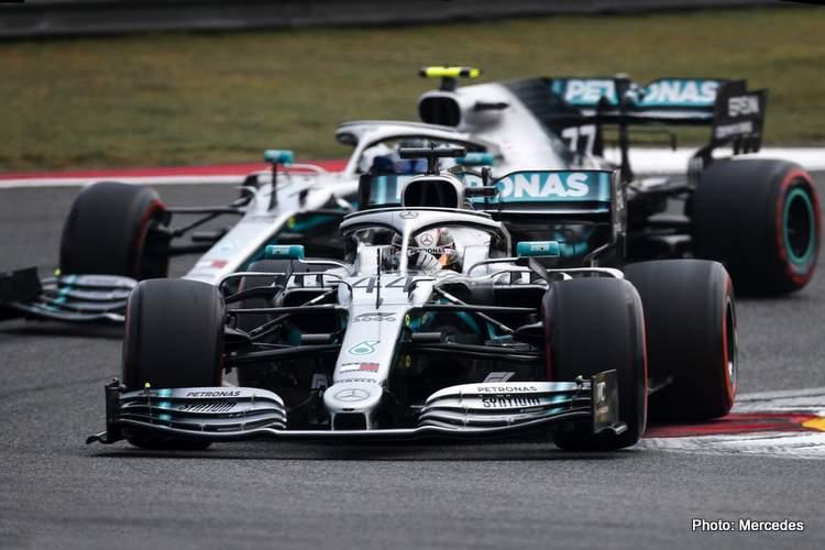 Hamilton, Bottas, Barcelona, win