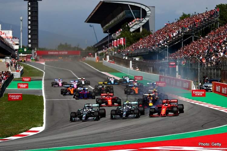 2019 Spanish Grand Prix Start