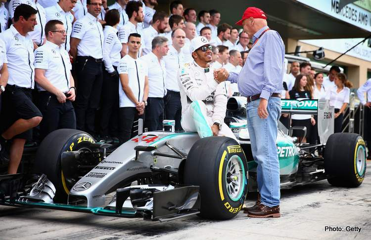 Brawn: Lauda convinced Mercedes to pay for Hamilton