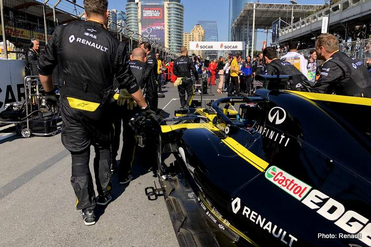 Renault To Use New Engine Ahead Of Schedule For Spain Grand Prix 247