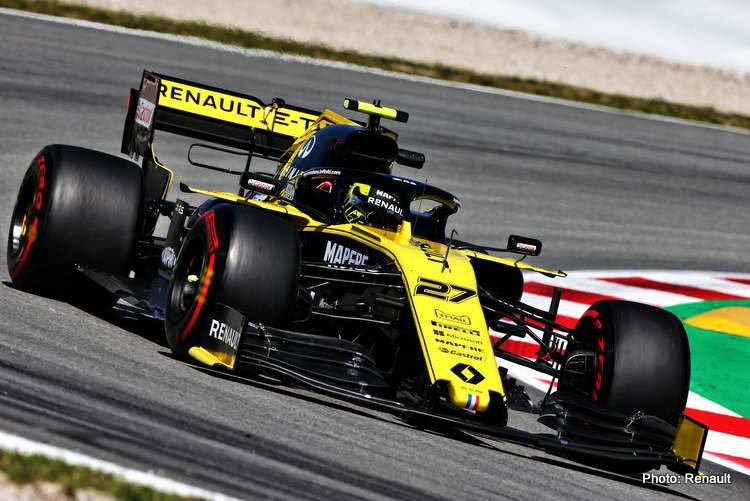 Nico Hulkenberg (GER) Renault F1 Team RS19.Spanish Grand Prix, Friday 10th May 2019. Barcelona, Spain.