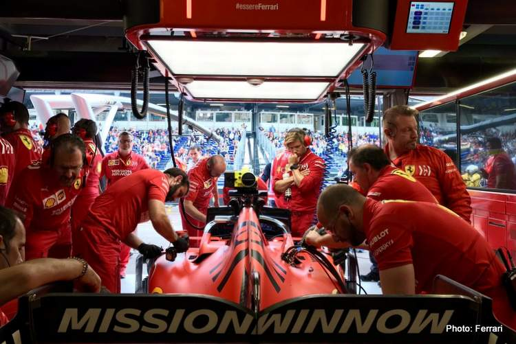 Ferrari drop Mission Winnow for Canada and France