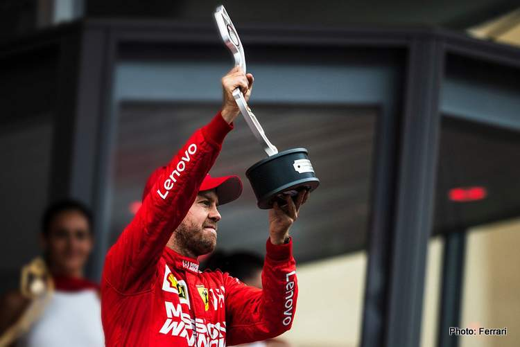 Vettel: If you find the Grip Guy give him my number