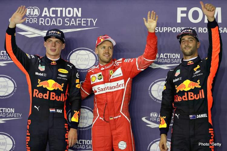 Ricciardo: Max is quicker than Seb