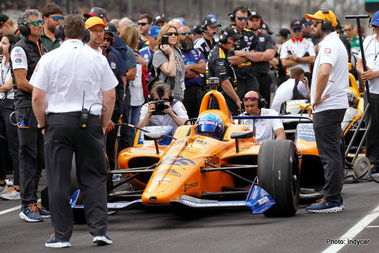 Alonso: No full Indycar season in 2020, Indy 500 maybe…