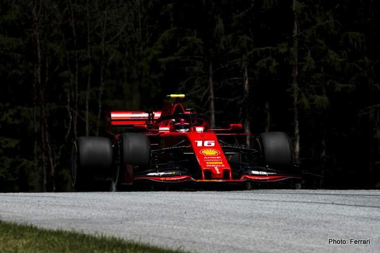 Austria FP3: Leclerc fastest again as Mercedes chase