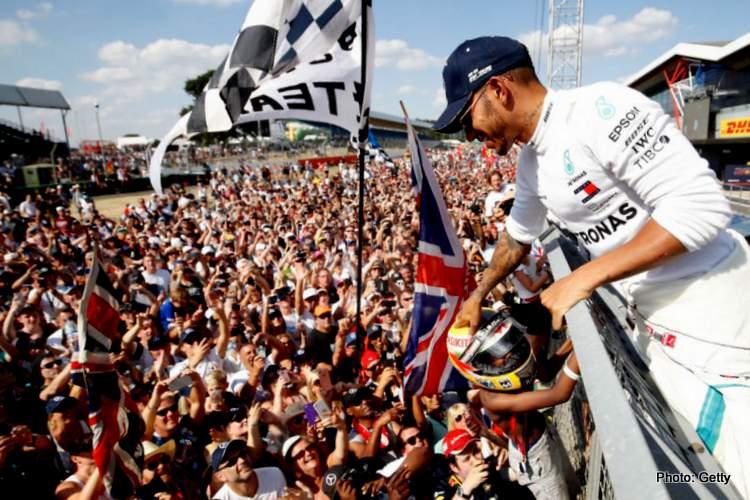 British Grand Prix crowd