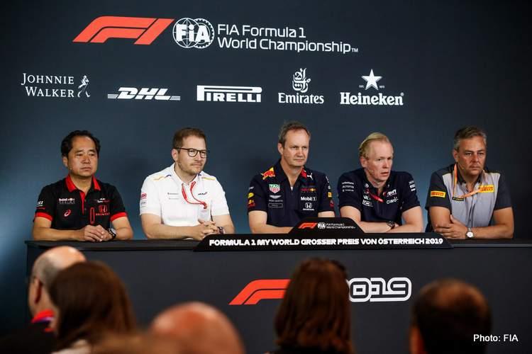 Austrian Grand Prix Friday Press Conference