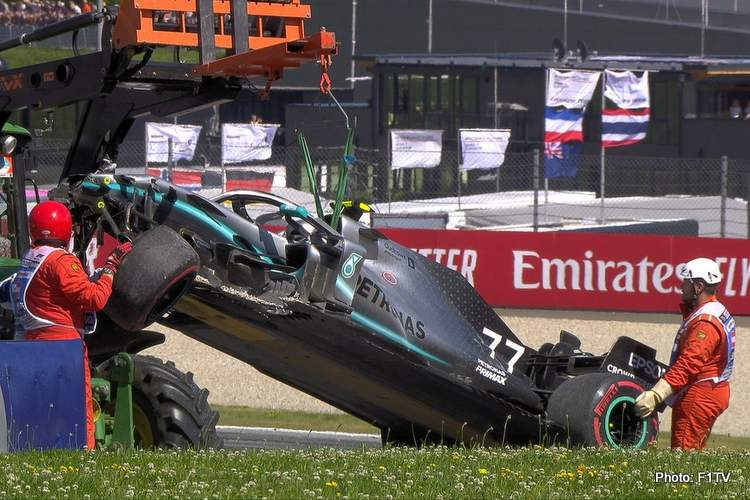Mercedes: We don't seem as competitive here as in France