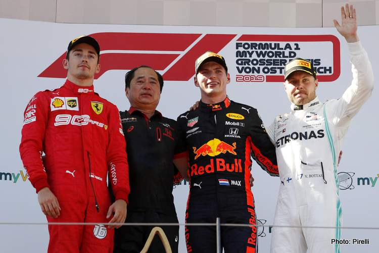 Austrian Grand Prix Top Three Press Conference
