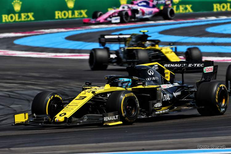 Motor Racing - Formula One World Championship - French Grand Prix - Race Day - Paul Ricard, France