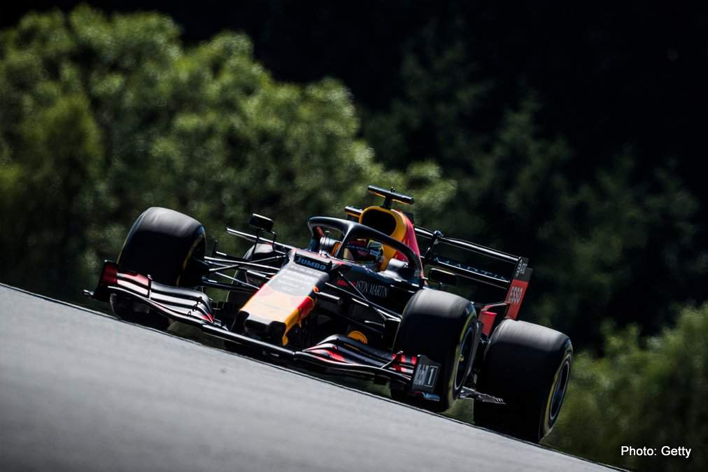 Red Bull: A great place to be starting our home race from