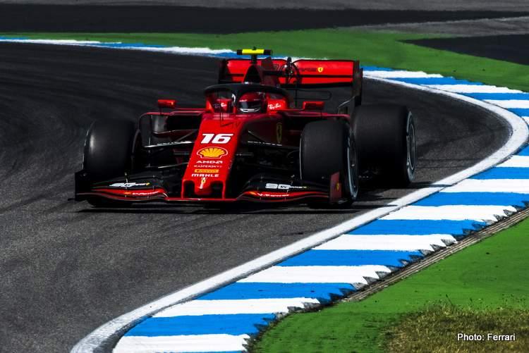 Ferrari: The feeling in the car was good