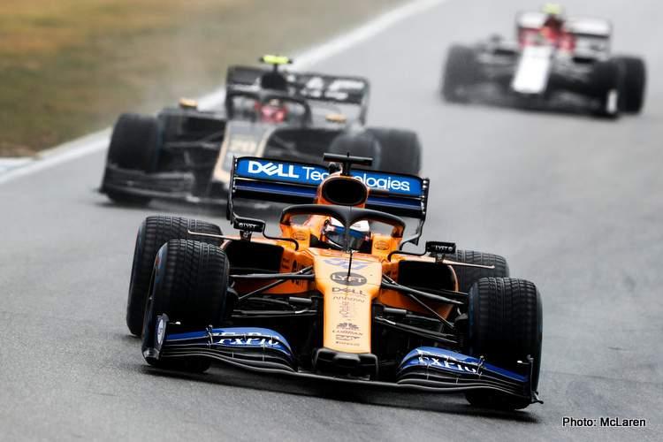 Carlos Sainz 2019 German Grand Prix
