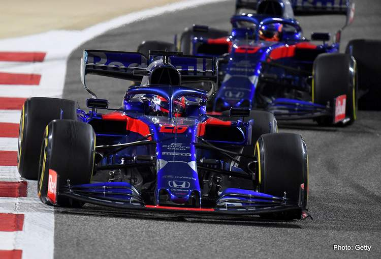 Tost: I hope we can continue with these Kvyat and Albon