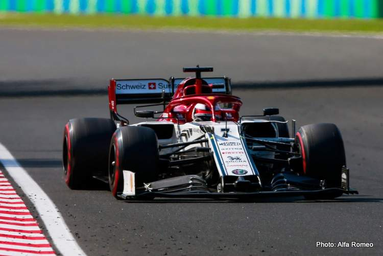 Alfa Romeo: Very much a race of two halves for the team