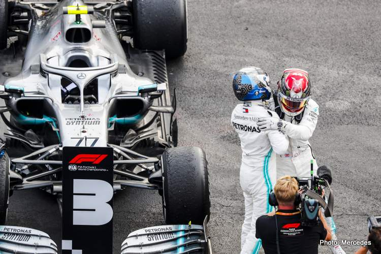 Mercedes: Today Was An Unexpected Win