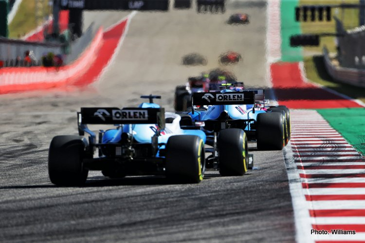 Williams 2019 US Grand Prix
