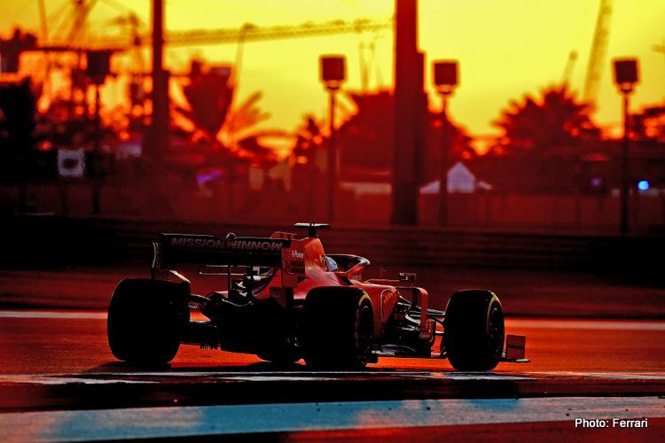GP ABU DHABI F1/2019 - VENERDÌ 29/11/2019<br /> credit: @Scuderia Ferrari Press Office