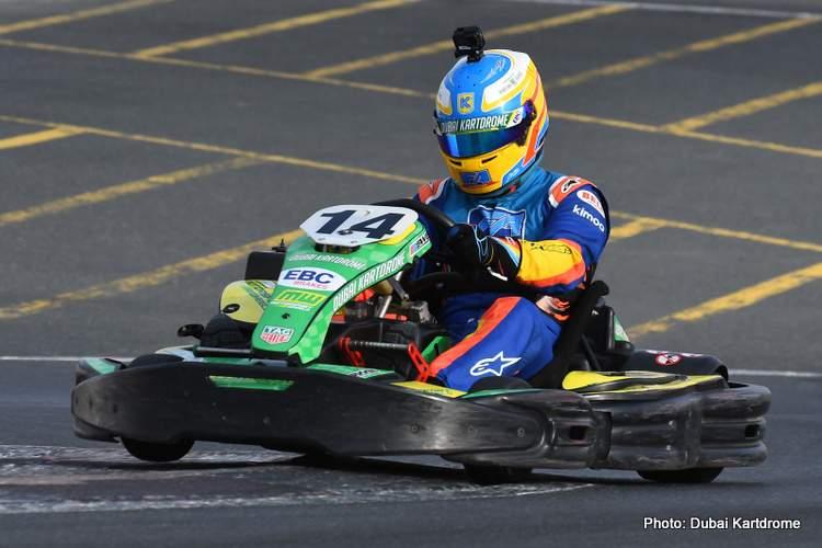 Kartdrome 24 Hours 2019 Fernando Alonso FA Racing 13-Dec-19 3-55-55 PM