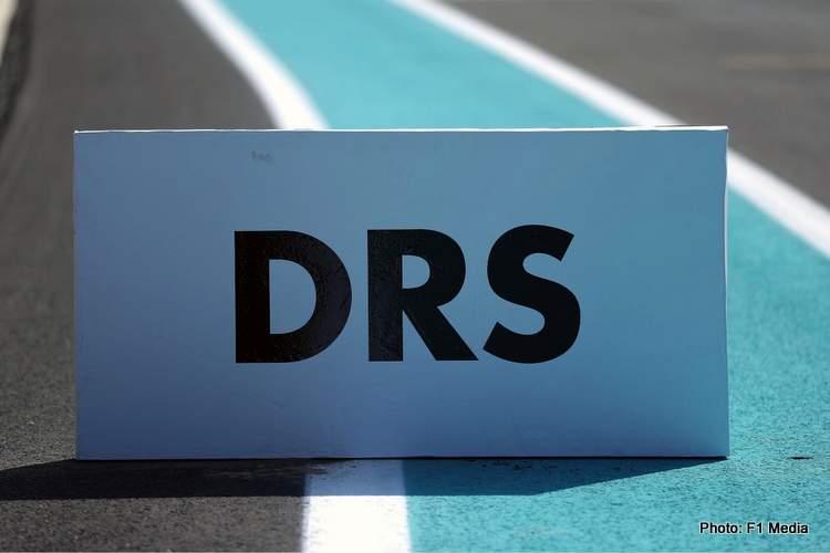 DRS sign