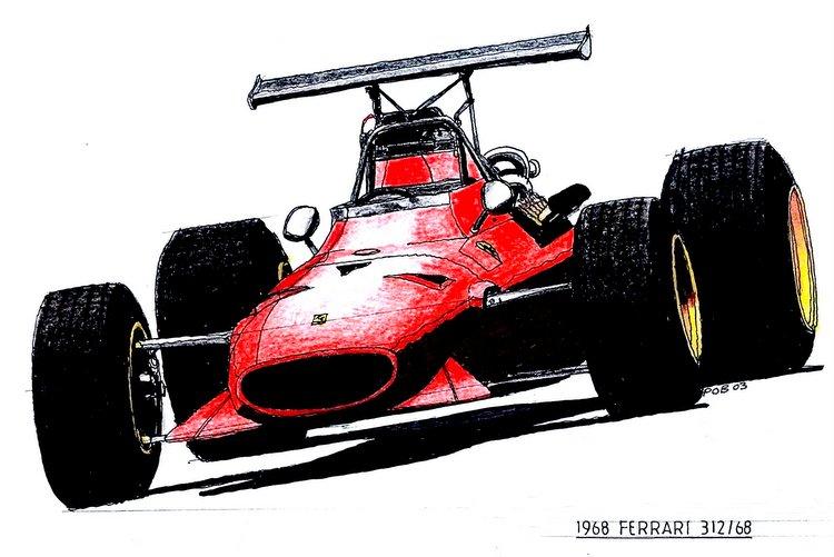 Ferrari 312-68 1