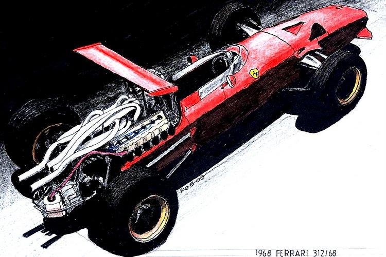 Ferrari 312-68 2