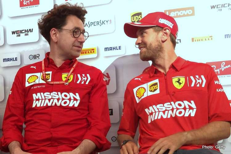 Binotto Vettel