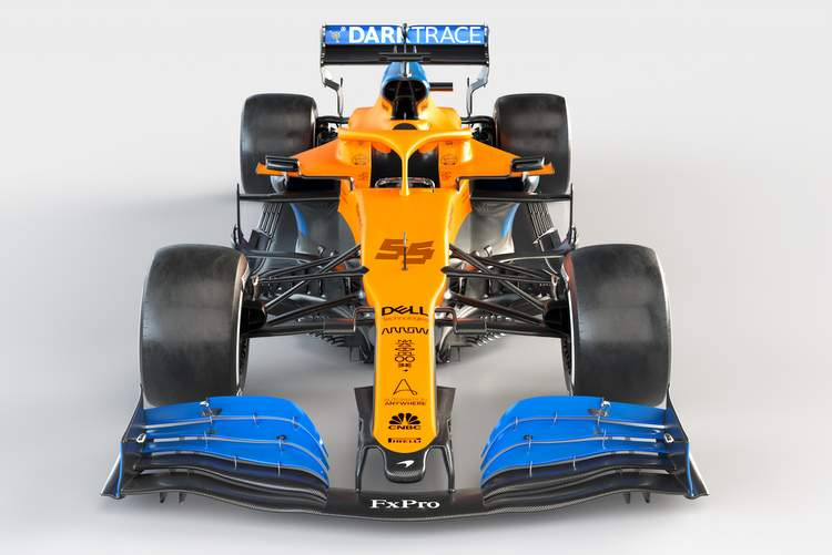 2020 MCL35 Carlos Sainz_FrontUnbranded