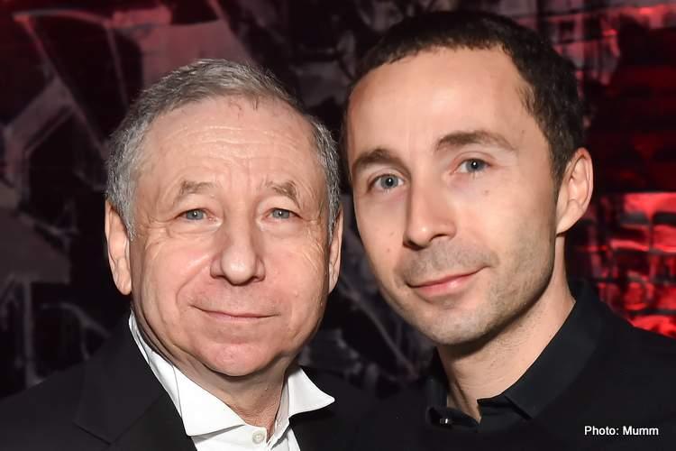Jean Todt et son fils NicolasTodt