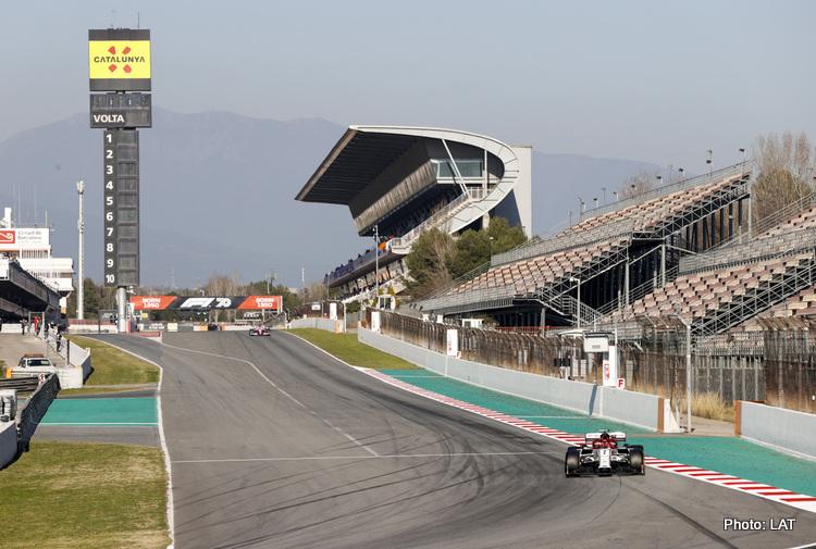 F1 testing 2020