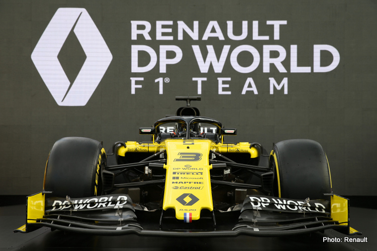 Renault 2020 livery launch