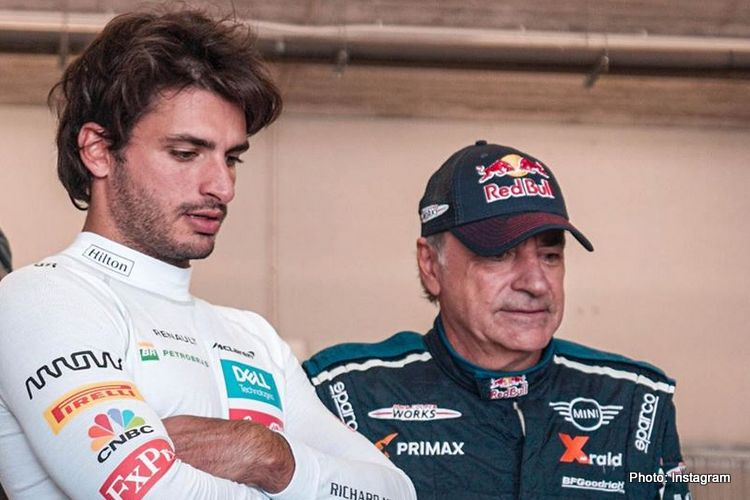 Carlos Sainz, Jnr and Sr
