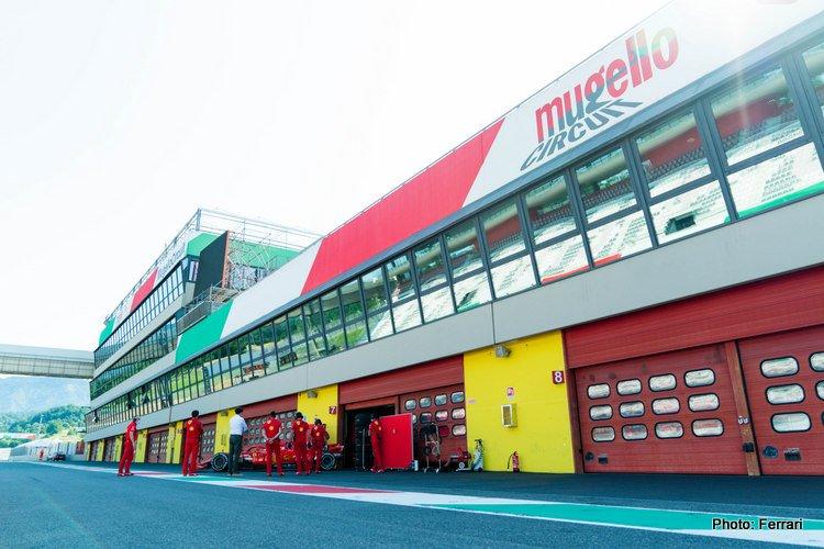 Ferrari at Mugello