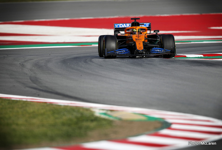 McLaren 2020 Testing