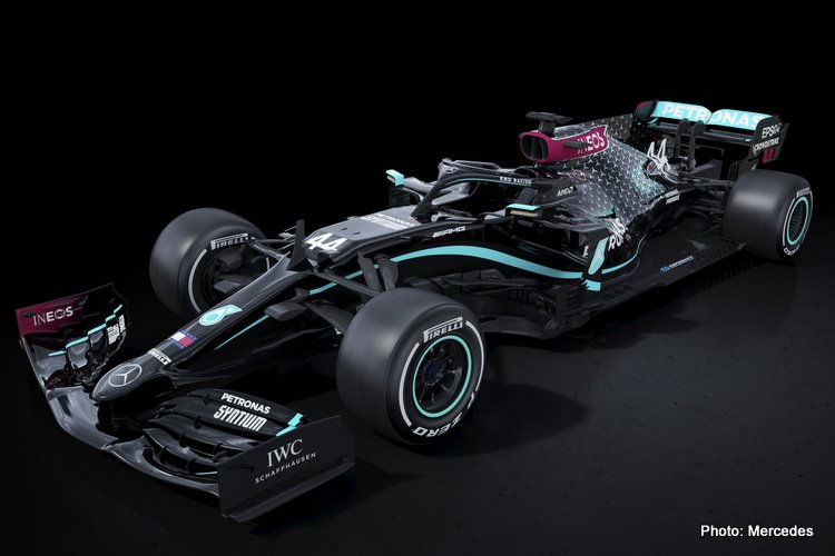 Mercedes Anti-Racism Livery